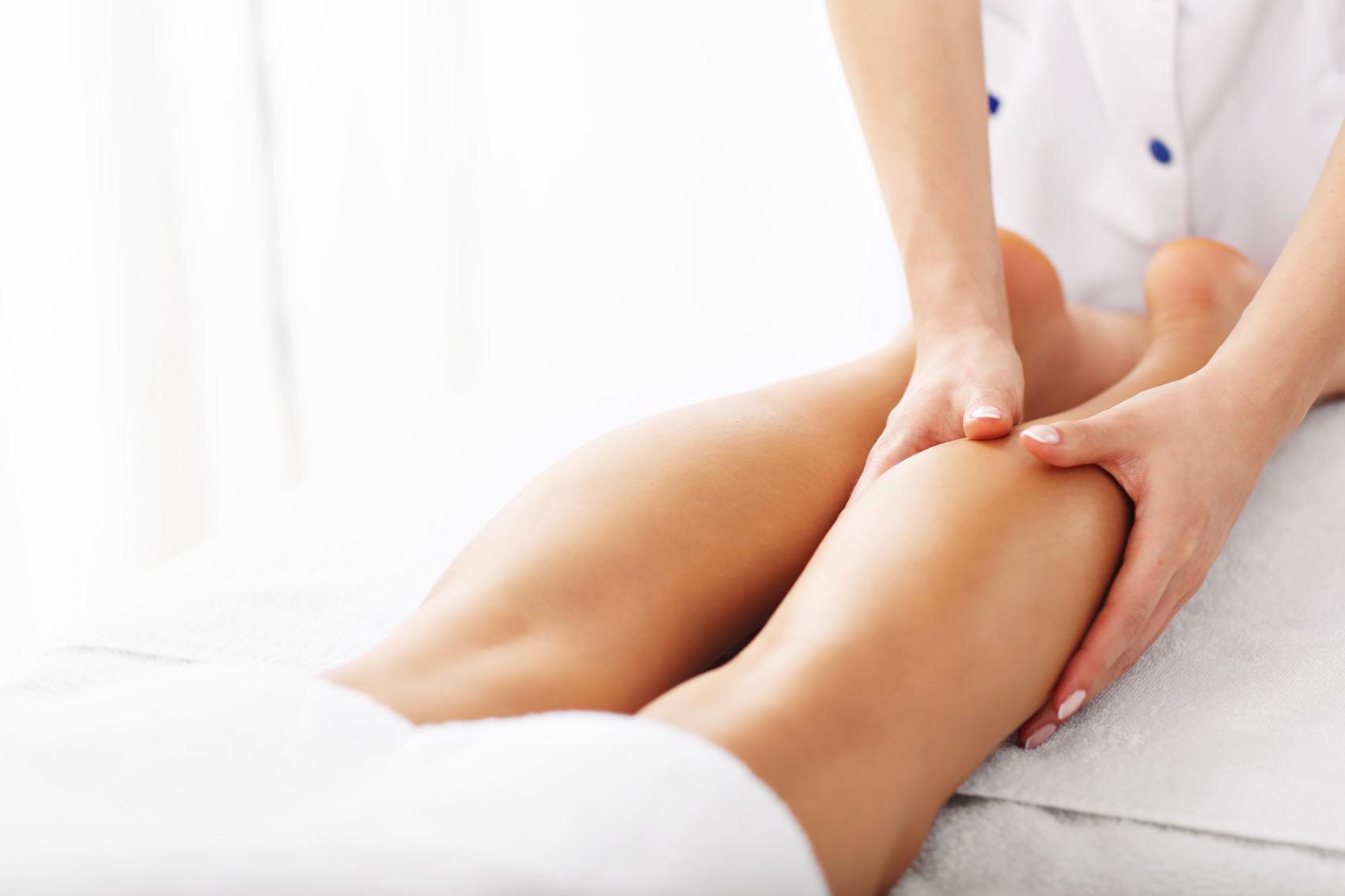 Deep tissue pre marathon massage