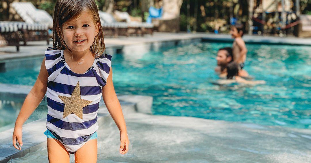 Gen Padalecki daughter swimming