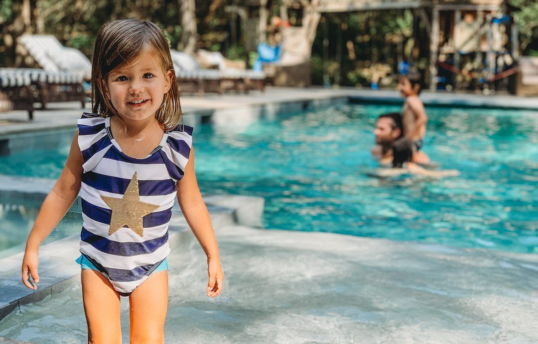 Gen Padalecki daughter swimming