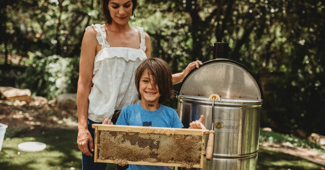 Gen Raising Honeybees